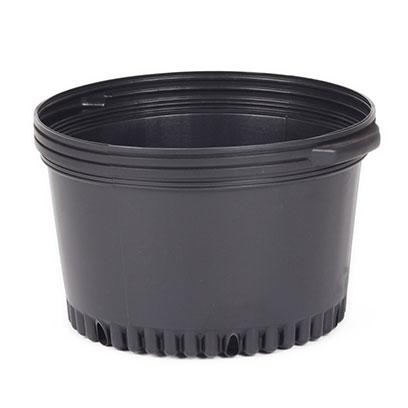 Cheap 14 Inch Black Plastic Plant Pots Manufacturer