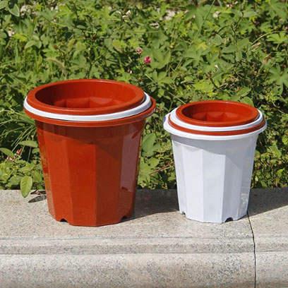 Cheap Decorative Plastic Plant Pots Supplier