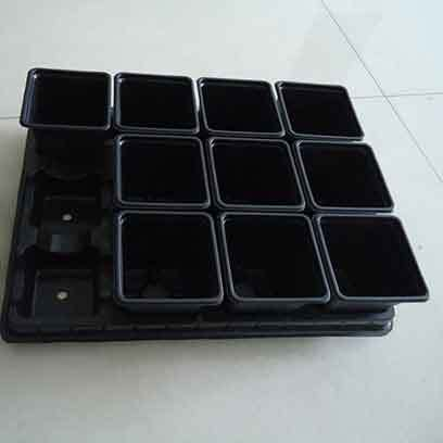 4.5 Inch Plastic Succulent Pots Wholesale Supplier