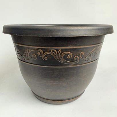 Decorative Plastic Plant Pots Manufacturers China