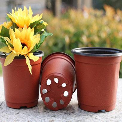 Cheap Round Plastic Plant Pots Factory Canada