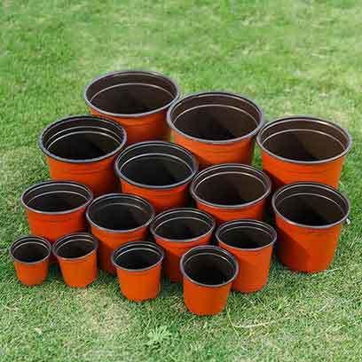 Plastic Nursery Plant Pots Wholesale USA