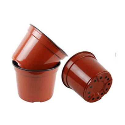 20cm(top dia) x 15.2cm(height) grow pots