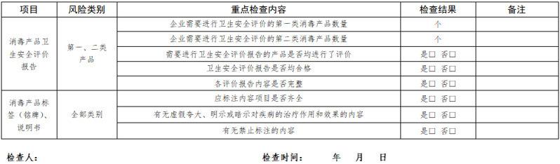 消毒剂检测机构