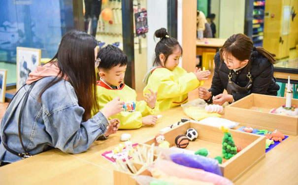 卫斯塔国际儿童艺术馆-鼓励探索式教育