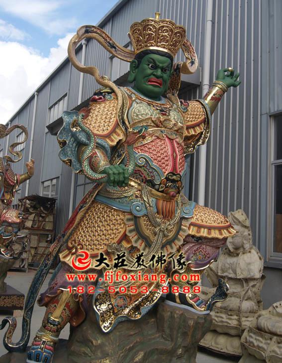 佛教护法之四大天王像