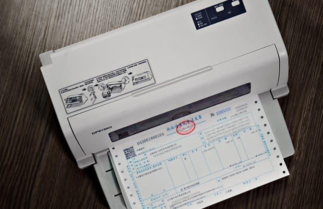 票据打印机减速电机应用案例