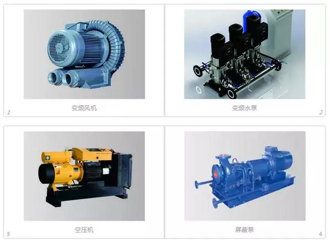 电机类型及应用