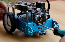 儿童机器人直流电机传动系统解决方案