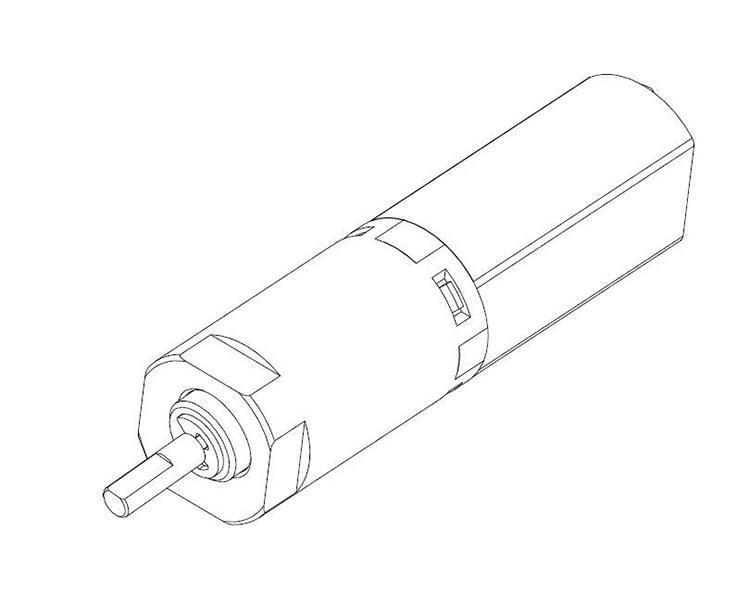 小型减速电机厂家 产品设计图