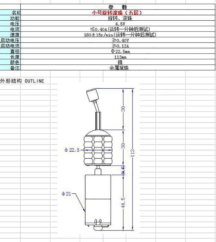 震动棒电机产品详细参数