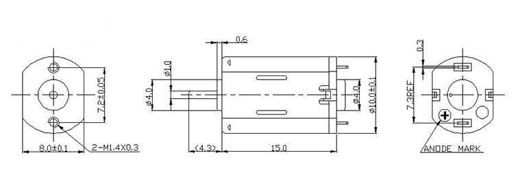 微型直流电机产品规格参数