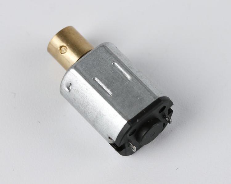 按摩器微型电机外观细节展示