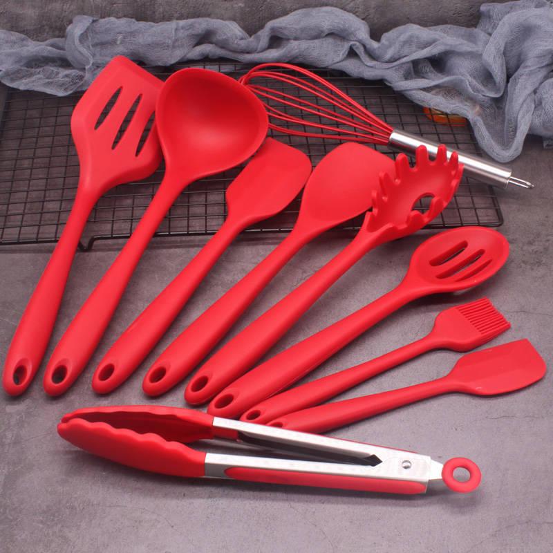 硅胶厨具10件套