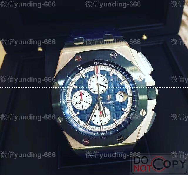JF厂爱彼AP皇家橡树离岸型26401PO铂金腕表