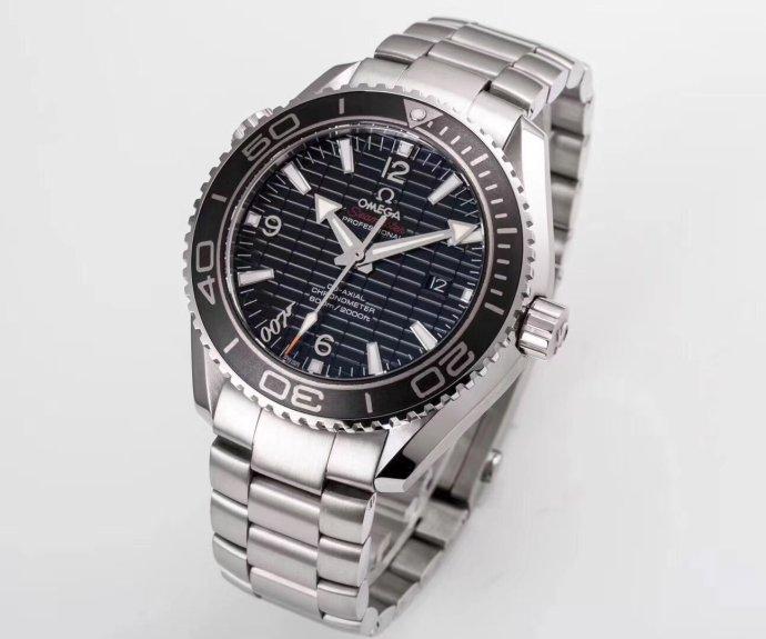 om厂新品8500欧米茄海马系列海洋宇宙600米腕表