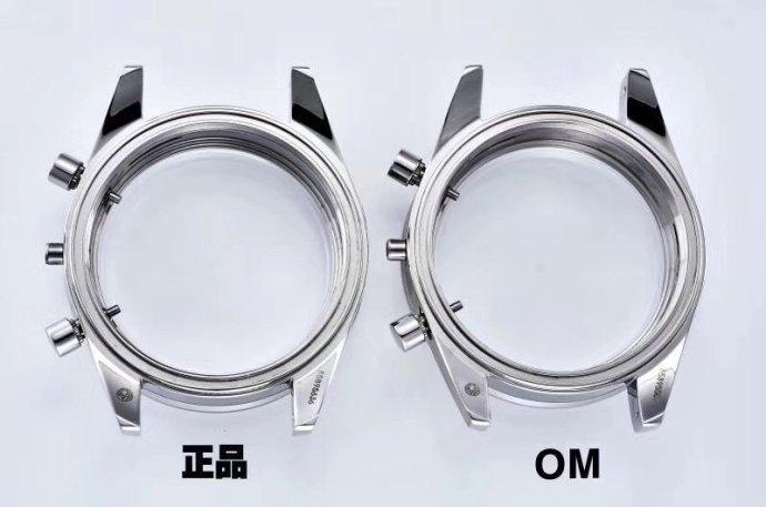 OM厂复刻欧米茄传奇超霸系列复刻手表对比正品评测
