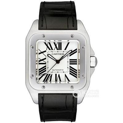 经典方形腕表,新款卡地亚的山度士腕表点评