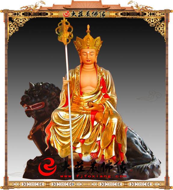 铜像大愿地藏王菩萨
