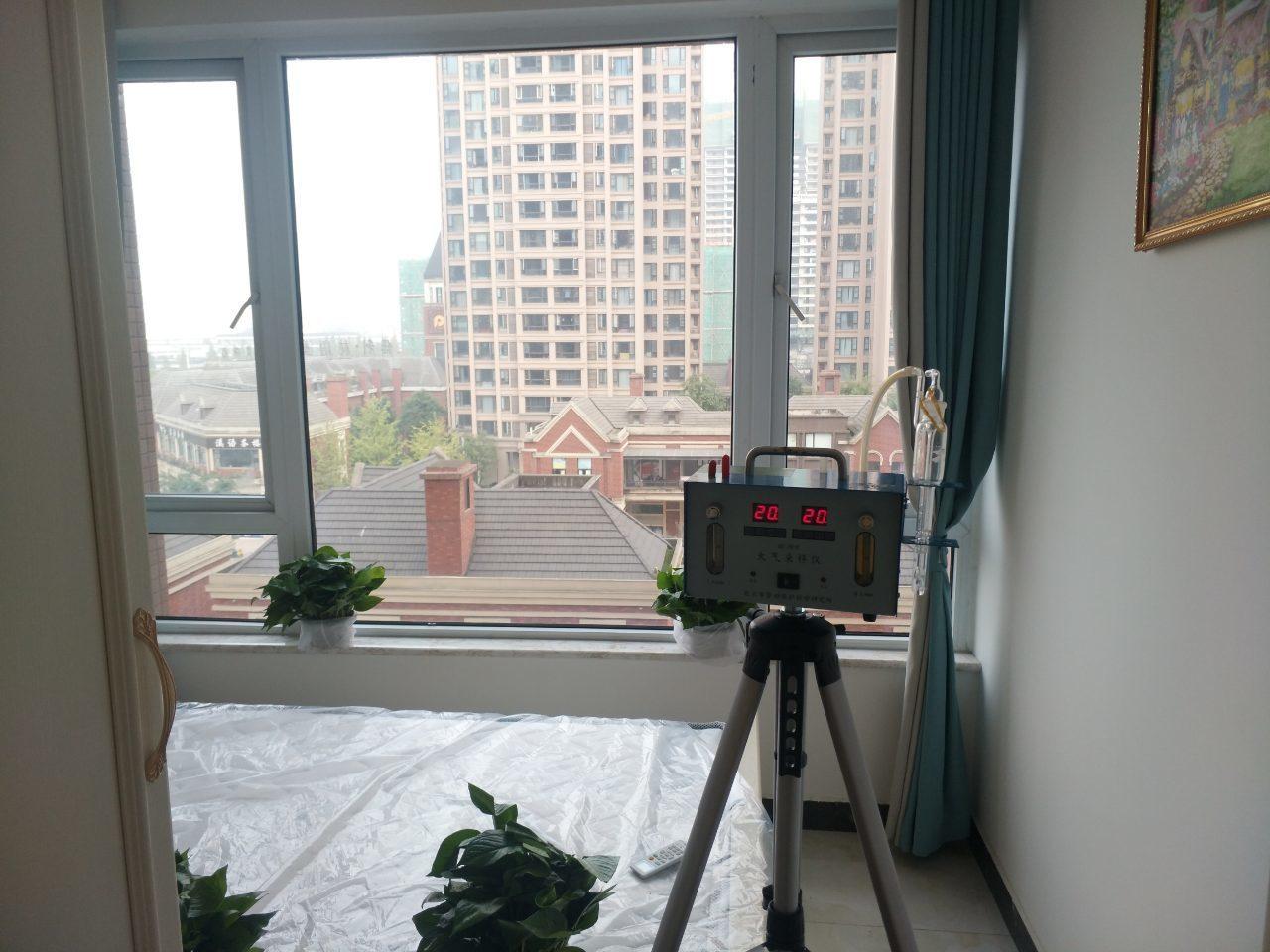 成都室内空气检测(保利林语溪)