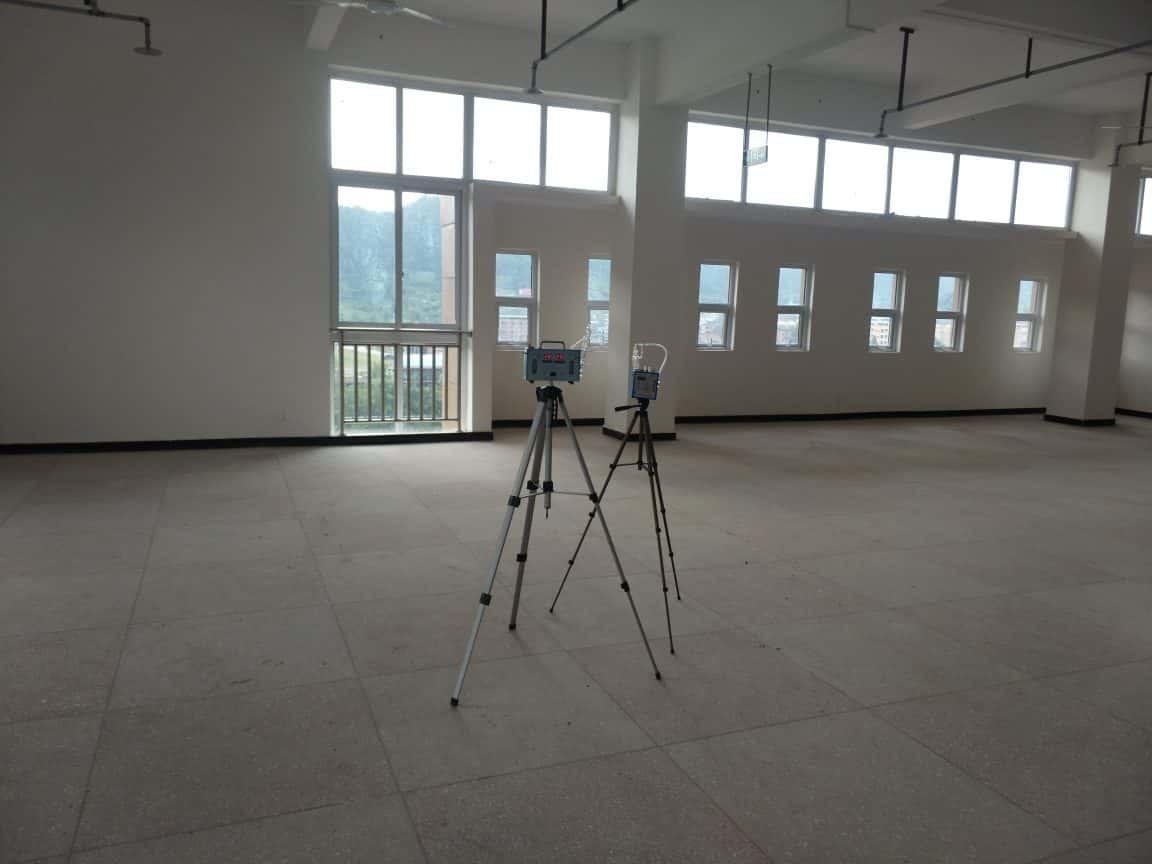 达州职业学院室内空气检测案例(职业学院新校区)