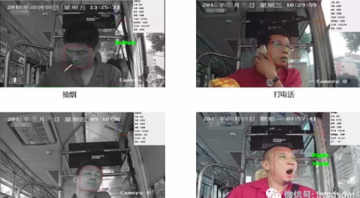 驾驶员身份识别和行为预警功能