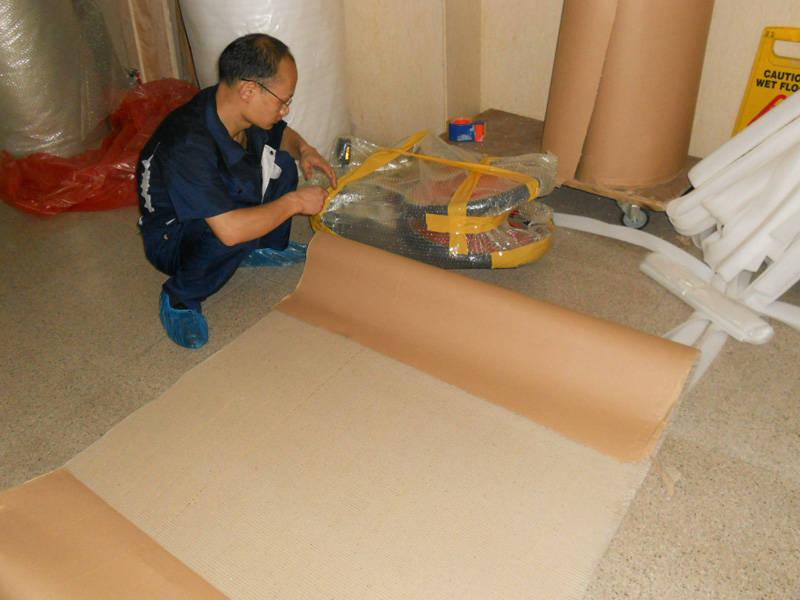 上海搬家服务案例