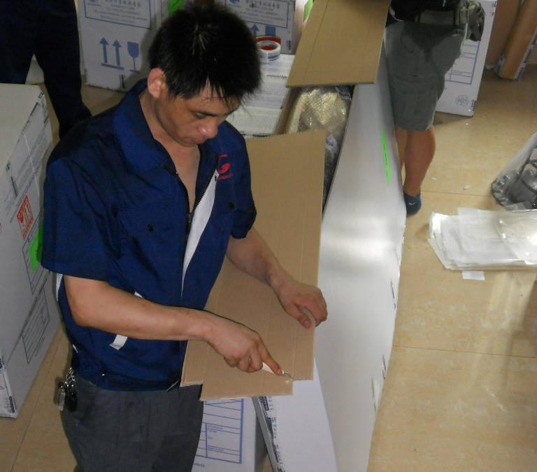 上海搬家公司家具打包图