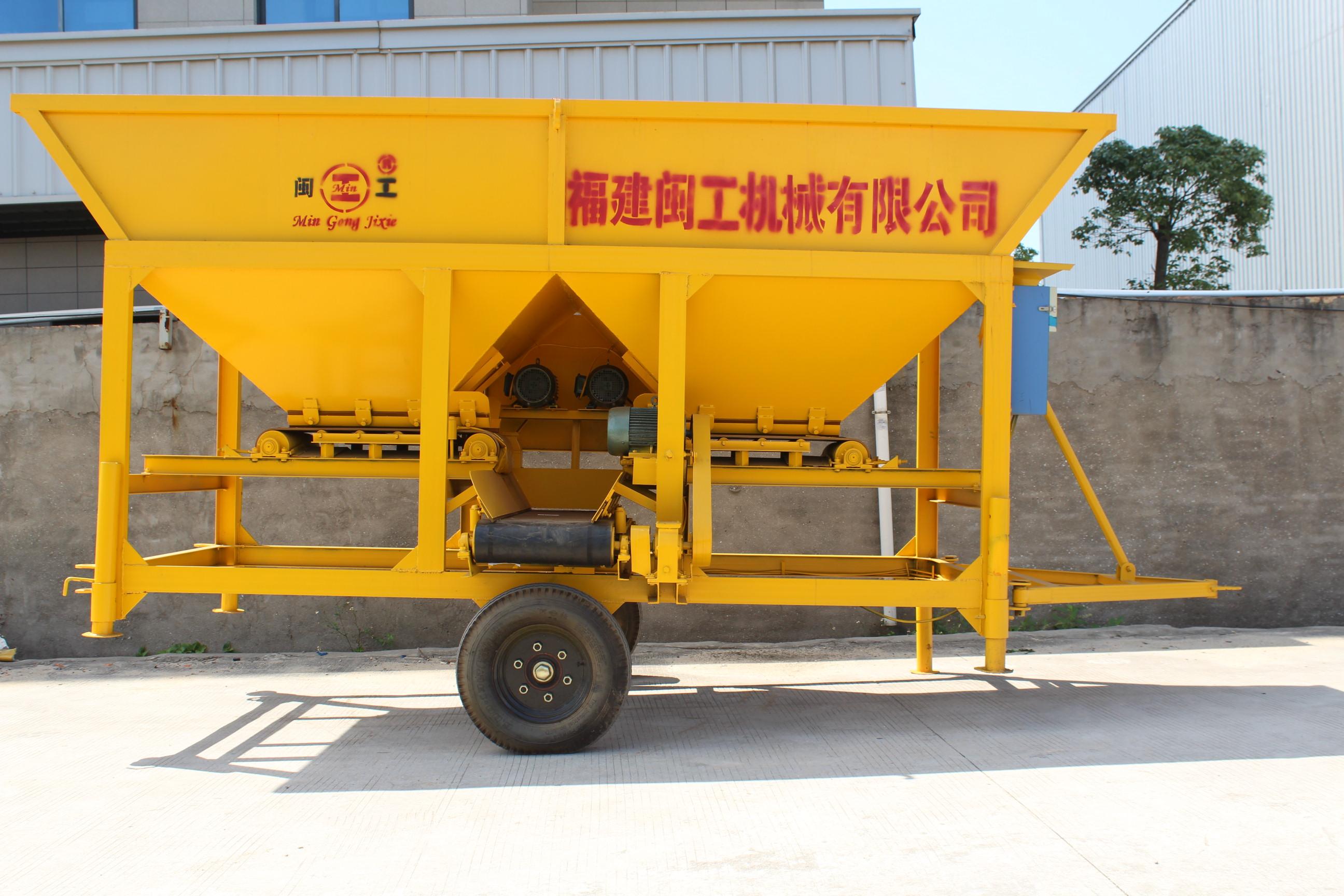 Concrete batching plant PLJ1000