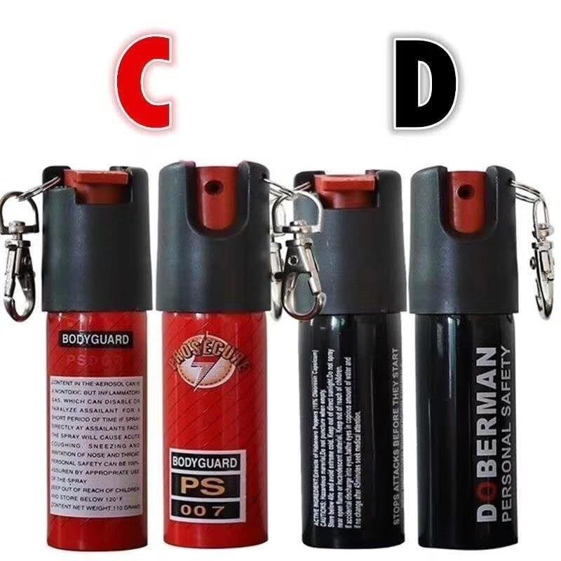 防身喷雾剂的原料有哪些?