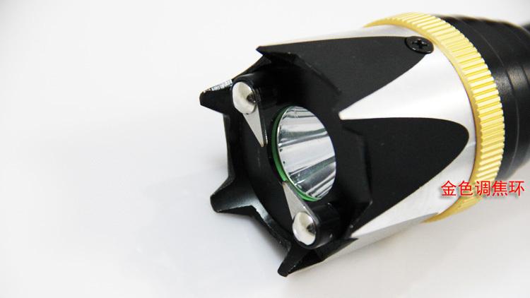 新款金刚狼牙007高压防身电棍