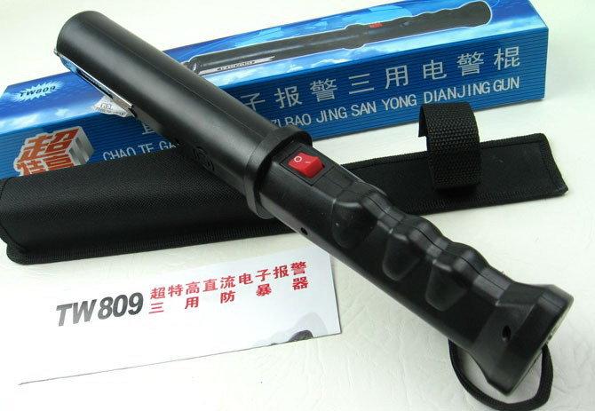 野外探险保安巡逻809型电击棍
