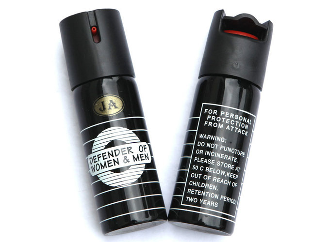 黑色JA型催泪喷雾剂