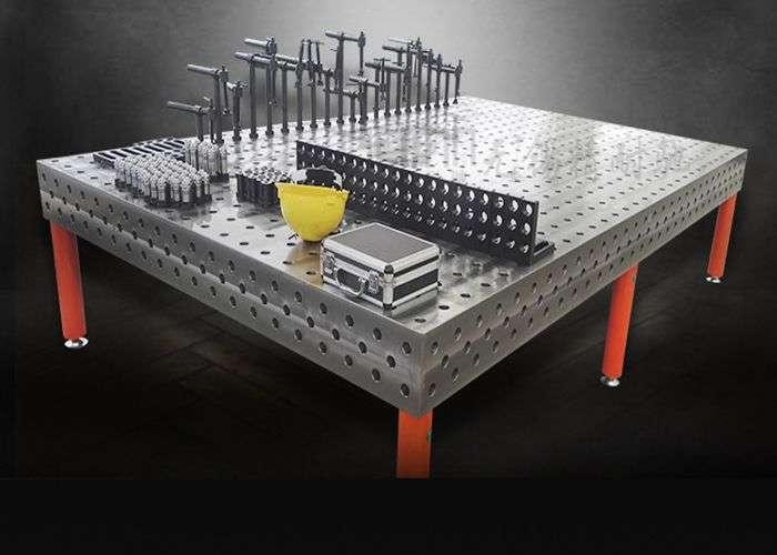 三维柔性组合焊接平台