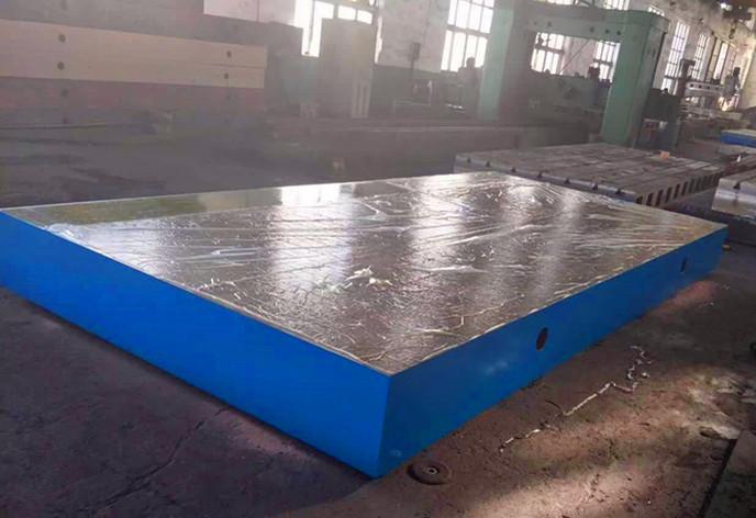 大型铸铁平台检测