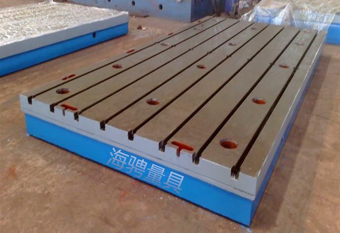 T型槽铸铁平板