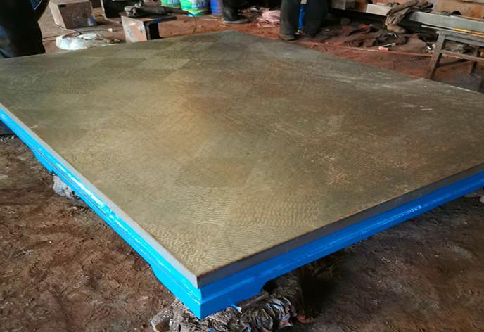 海骋铸铁平板