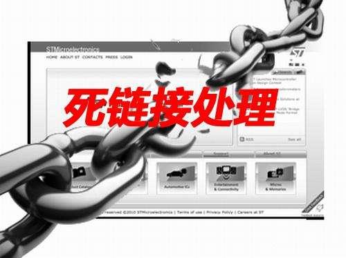 网站seo过程中的死链处理