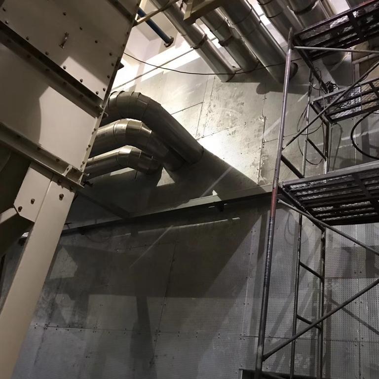 泄爆吊顶板的应用