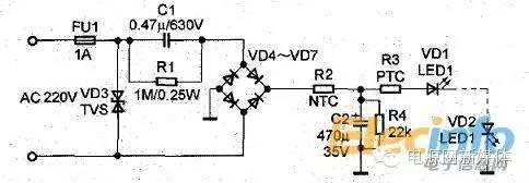 LED灯板串联并联