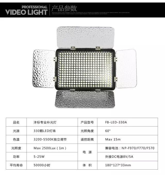 LED补光灯如何选购?