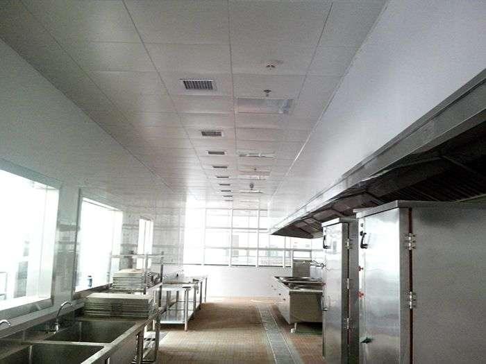 工厂、学校餐厅厨房环保空调降温方案