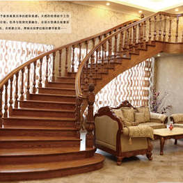 实木楼梯003