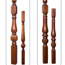 橡木实木楼梯扶手