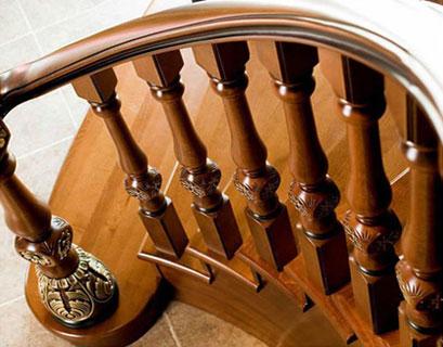 富豪实木楼梯