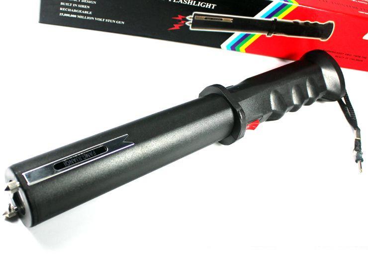 保安装备防身电击棍的功能与介绍