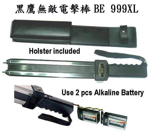 台湾欧仕达黑鹰BE999XL电击棒