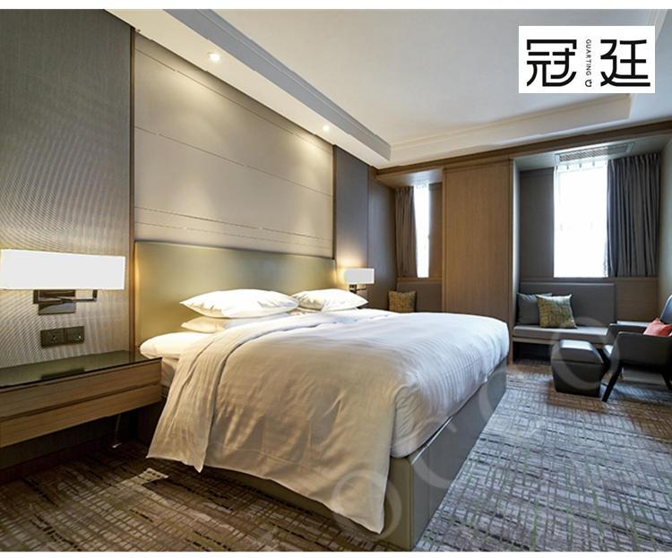 酒店大床房套房家具